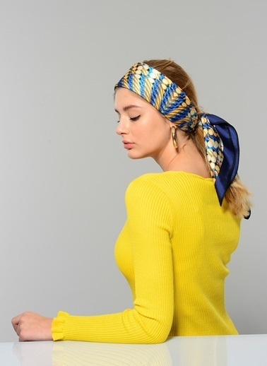 W Collection Eşarp Lacivert